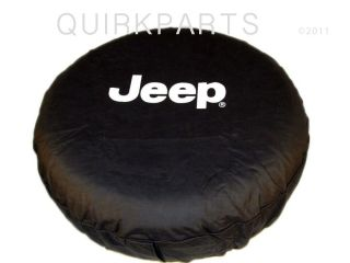 97 2012 Jeep Wrangler or Liberty Tire Cover White Logo