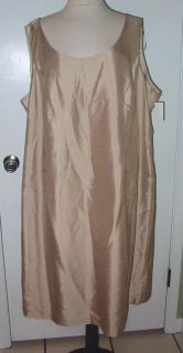 Jessica Howard Beige 2 PC Dress Jacket Sz 24W NWTG $168