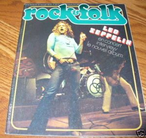 Rock Folk 75 LED Zeppelin Van Der Graaf John Cale