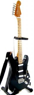 Miniature Guitar David Gilmour Pink Floyd Black Strat