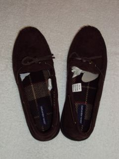 John Ashford Mocassin Style Slippers Indoor Outdoor