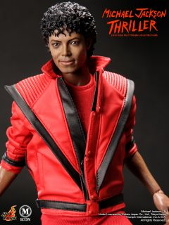 HOT TOYS M ICON MICHAEL JACKSON MJ THRILLER WERECAT 1 6 MISB NEW READY RARE