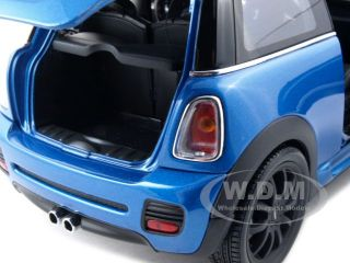 Mini Cooper s Blue John Cooper Works 1 18 Kyosho