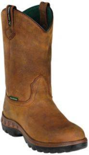 Sale 220 Dan Post Boots John Deere Wellington Boots Mens Brown Boots 10 5 W