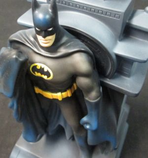 BATMAN Plastic Coin Bank GOTHAM CITY DC Comics 2005