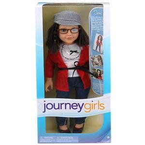 Journey Girls 18 inch Soft Bodied Doll Dana New