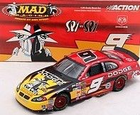 KASEY KAHNE 2004 MAD MAGAZINE DODGE DEALERS 1 24 ACTION DIECAST CAR 1