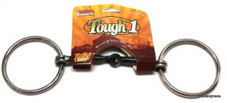 Kelly 5 Stainless Steel Sweet Iron Snaffle Bit Horse Tack Equine