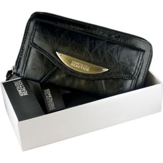 Kenneth Cole Womens Reaction Clutch Wallet Black