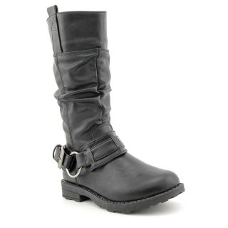 Kensie Girl KG05 Youth Kids Girls Size 3 Black Fashion Mid Calf Boots