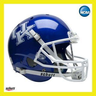 KENTUCKY WILDCATS BLUE OFFICIAL FULL SIZE XP REPLICA FOOTBALL HELMET