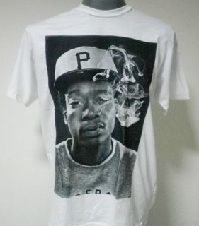 Wiz Khalifa Hip Hop Rapper T Shirt White Size M