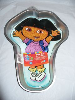 Wilton DORA the EXPLORER Cake Pan w Insert 2003 2105 6300 Birthday