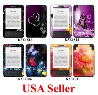 Kindle 3 Latest Generation Skin Sticker Decal Cover