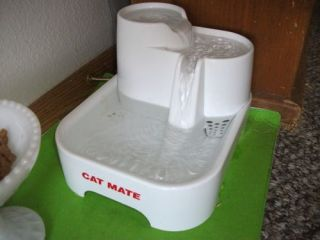 Cat Mate Pet Fountain Cats Small Dogs Water Drinking