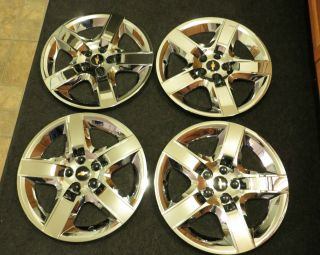 Chevrolet Malibu 2008 2012 Chrome wheel cover hub caps for SET OF 4 17