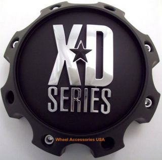 KMC XD Series 8 Lug Matte Black Center Cap 1079L170MB