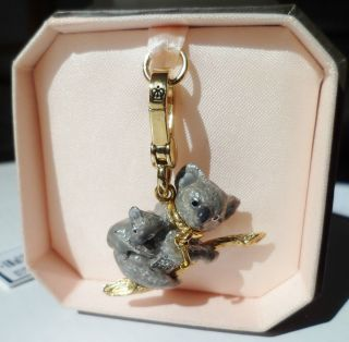 New Koala Bear Auth Juicy Couture Bracelet Charm for Necklace Bracelet