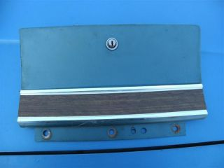 1966 Ford Galaxie 500 Glove Box Door Blue in Color