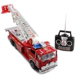 Big Size Remote Control RC Fire Truck Full Functions Good Quality