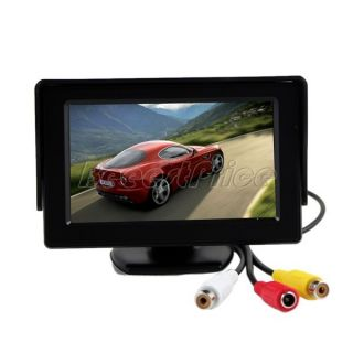inch 16 9 TFT LCD Car Rear View Monitor Car Reverse Backup Camera