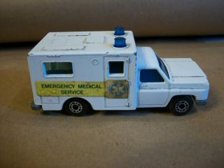 Matchbox Superfast No 41 Ambulance 1977 Lesney B