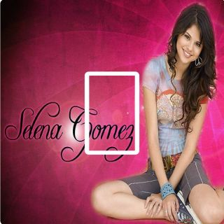 Girls Selena Gomez Light Switch Cover Sticker Skin