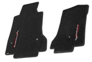 Lloyd Mats C6 Corvette Sideways Logo Velourtex Floor Mats 2005 2012