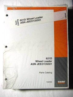 Case 621D Wheel Loader Parts Manual New