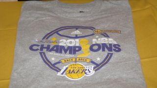 Los Angeles Lakers Back 2 Back 16x 2010 NBA Basketball Champions T