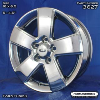 Ford Fusion 16 PVD Chrome Wheels 3627 Outright