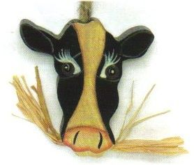 COW FACE Country Kitchen Retro Farm Decor plaque SIGN C Store 4 Decor