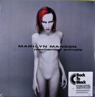 Marilyn Manson Mechanical Animals  180 Gram 2 Vinyl Set