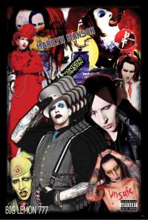 Marilyn Manson Rock Music Poster 3 24X35