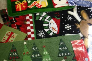 Martha Stewart Holiday Decor Christmas Accent Rug Assorted Styles
