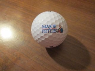 Logo Golf Ball Major Peters Bloody Mary Mix