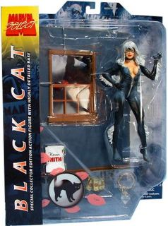 Marvel Select Black Cat Spider Man Action Figure SEALED