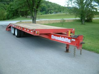 CRONKHITE 6310 TANDEM AXLE, DUAL WHEEL, 23 FT. EQUIPMENT TRAILER , AIR