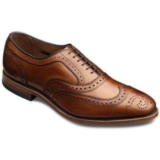 Allen Edmonds Mens McAllister Walnut Shoe