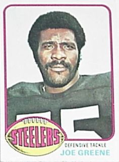 1976 Topps Trading Card Football Joe Greene Mean