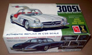 AMT Mercedes Benz 300 SL Vintage Kit 60s 1 25