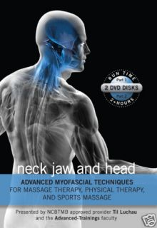 Myofascial Release Medical Massage DVD Head Neck Jaw