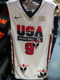 Nike Michael Jordan USA Basketball Retro Authentic Jersey Olympic