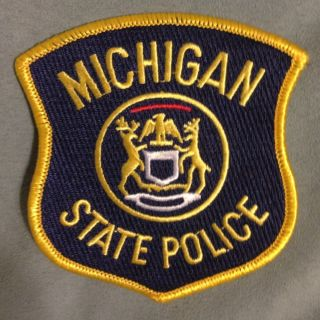 Michigan State Police Patch