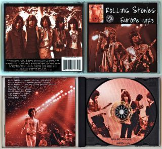 The Rolling Stones with Mick Taylor Live in Europe 1973