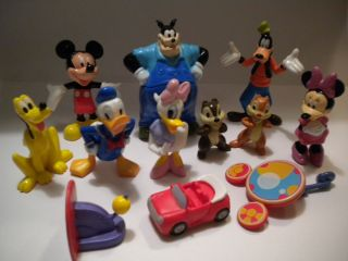 NEW Mickey Mouse Clubhouse Toy Figure Lot Book Birthday Cake Topper