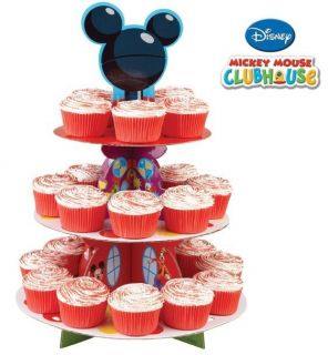 Mickey Mouse Clubhouse 3 Tier Cup Cake Stand