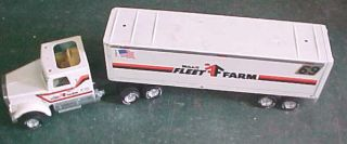 Nylint metal pressed steel semi tractor trailer truck Mills Fleet Farm