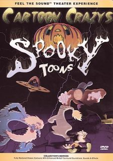 Cartoon Crazys Spooky Toons DVD, 2000