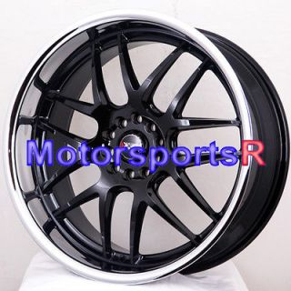 20 20x9 XXR 526 Black Polished Lip Rims Wheels 09 10 11 Nissan Altima